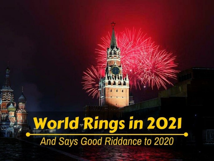 World rings in 2021 and says good riddance to 2020