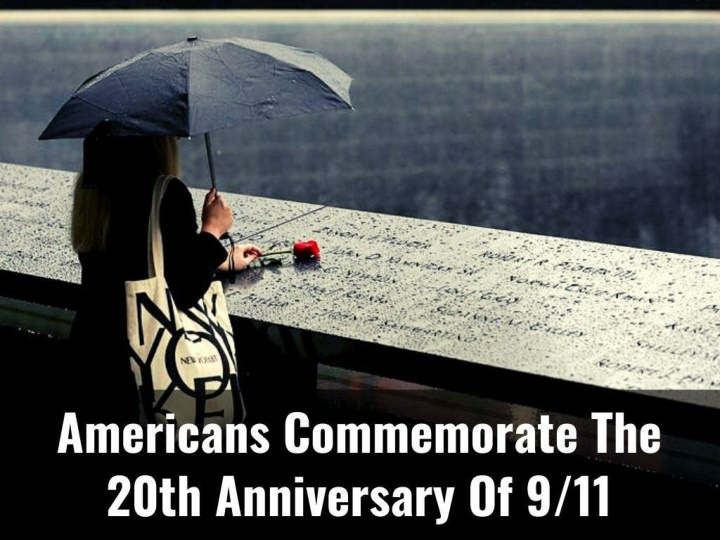 Americans commemorate the 20th anniversary of 9