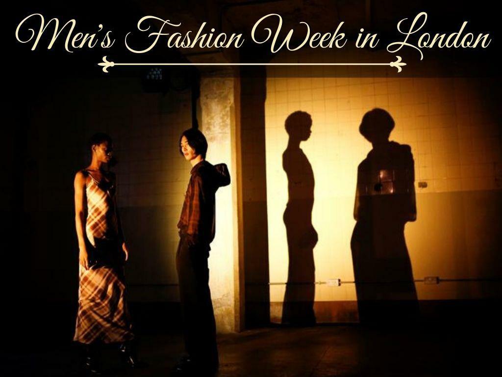 Men's Fashion Week in London 2020