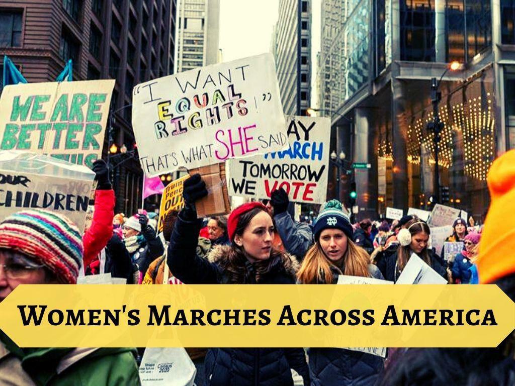 Women's March 2020 in Manhattan