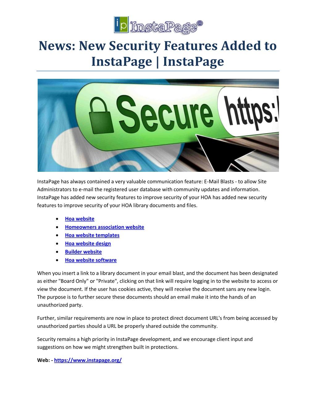 Hoa website design