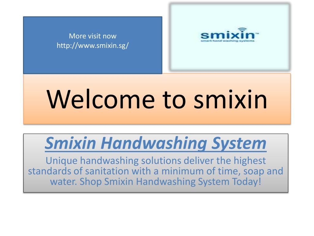 Smixin Hand Washing System